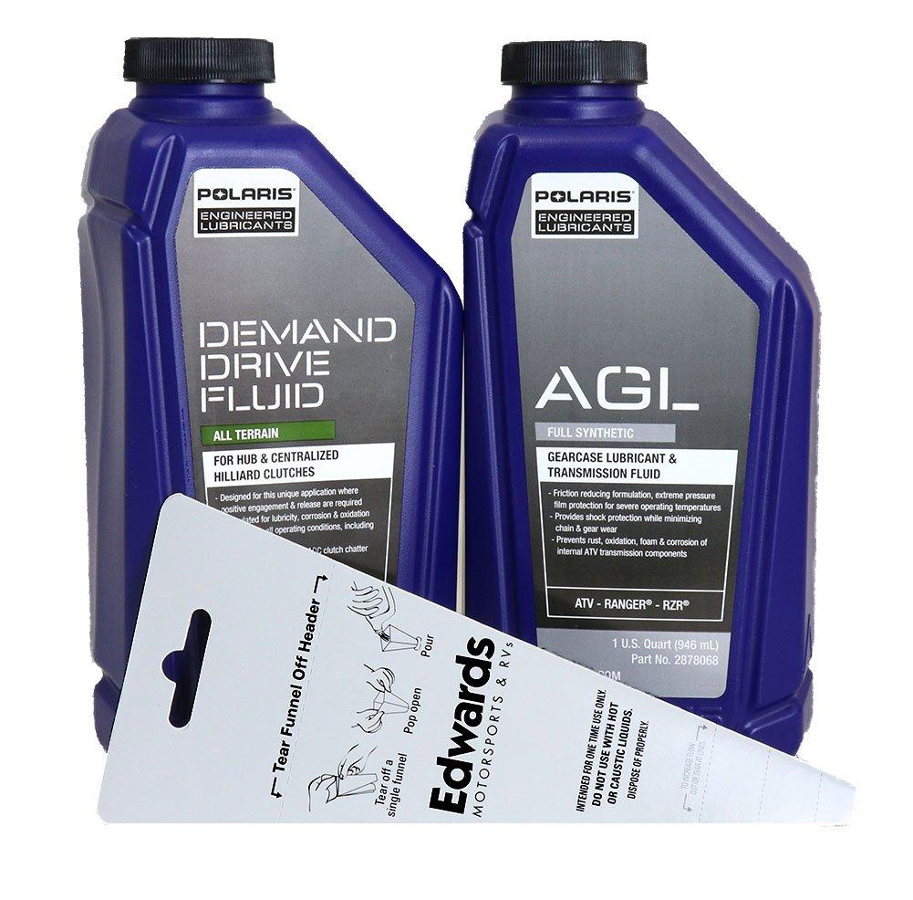 Polaris AGL and Demand Drive Quarts