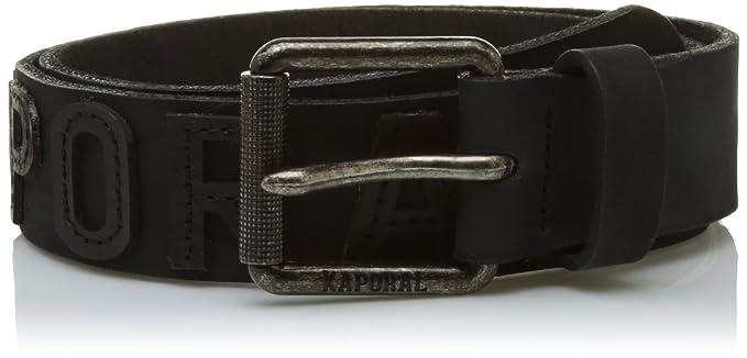 Kaporal IDAMYE17M06, Ceinture Homme, Noir (Black), FR (Taille Fabricant  43e8fa8ff7f