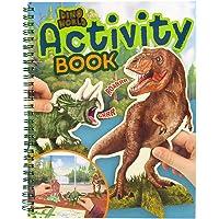 Depesche 10742 Activity Book, Dino World, ca. 24,5 x 20 x 1,5 cm.