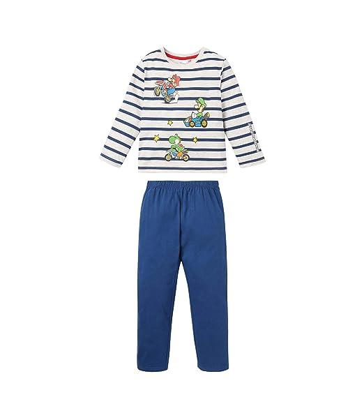 Nintendo Super Mario Bros Pijama para Chicos: Amazon.es: Ropa y accesorios