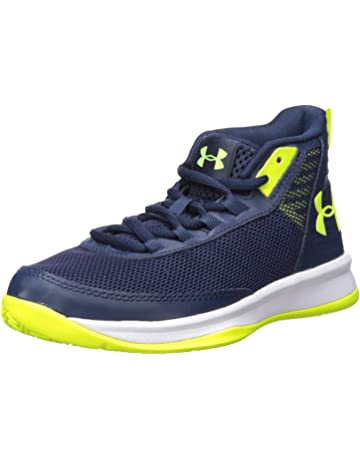0c7649cad124 Under Armour Unisex-Kids  Pre School Jet 2018 Basketball Shoe