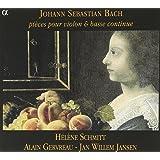 Pièces pour violon & basse continue BWV 1023-1026