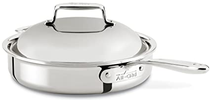 710e257becca Image Unavailable. Image not available for. Color: All-Clad SD754036 D7  18/10 Stainless Steel 7-Ply ...
