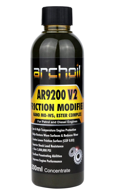 Archoil AR9200 V2 Nano MO-WS2 Friction Modifier - 200ml