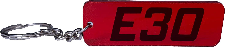 grey Reskey E30 3 Key Ring 316 318 320 323 325 M3 Tuning