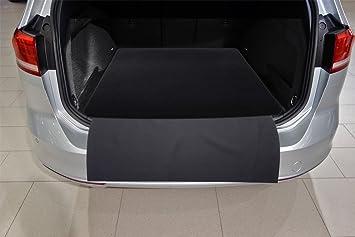 2-teilige Kofferraummatte mit Stoßstangenschutz für VW Passat 3G B8 Variant
