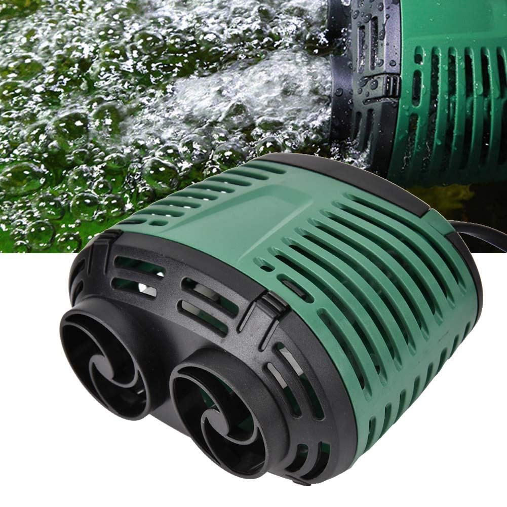 Single Head with Suction Cup 8W Pssopp Aquarium Wave Maker Aquarium Fish Tank Wave Maker Wave Pump Wave Maker Pump Circulation Pump for Marine Tropical and Fresh Water Pump