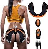 ZHENROG Electroestimulador Muscular Gluteos,EMS Gluteos Estimulador,HipTrainer,Estimulador Muscular Ejercitar Gluteos…