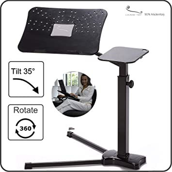 Excellent Lounge Book Black Ergonomic Laptop Stand Supports Up To 17 18 Inchs Notebook Tablet Ipad Lectern For E Book Coolfit Cooling System Mouse Pad Gmtry Best Dining Table And Chair Ideas Images Gmtryco