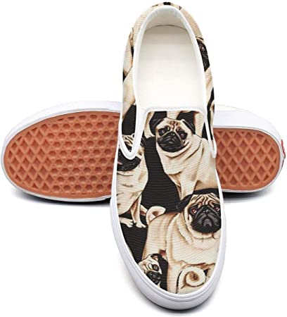 VXCVF Daisy Fabric French Bulldogs Womens Leisure Shoes Crazy shoefor Womens