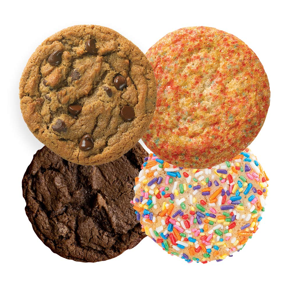 Great American Cookies - 12 Fresh Baked Assorted Cookies - Baked Daily, Hand Scooped and Never Frozen - Great for birthday, graduation, parties, or Father's Day gifts