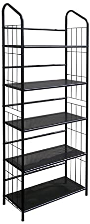 ORE International R597-5 Five Tier Metal Book Rack