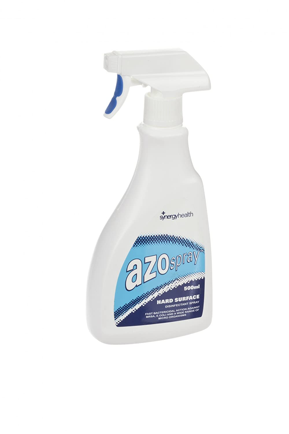 AZO VC81120 Spray Hard Surface Disinfectant, 500 mL, Clear (Pack of 12) SYNERGY HEALTHCARE (UK) LTD