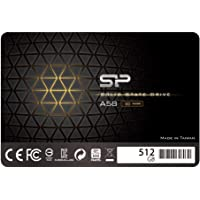 """Silicon Power 512GB SSD 3D NAND TLC A58 Performance Boost SATA III 2.5"""" 7mm (0.28"""") Internal Solid State Drive…"""