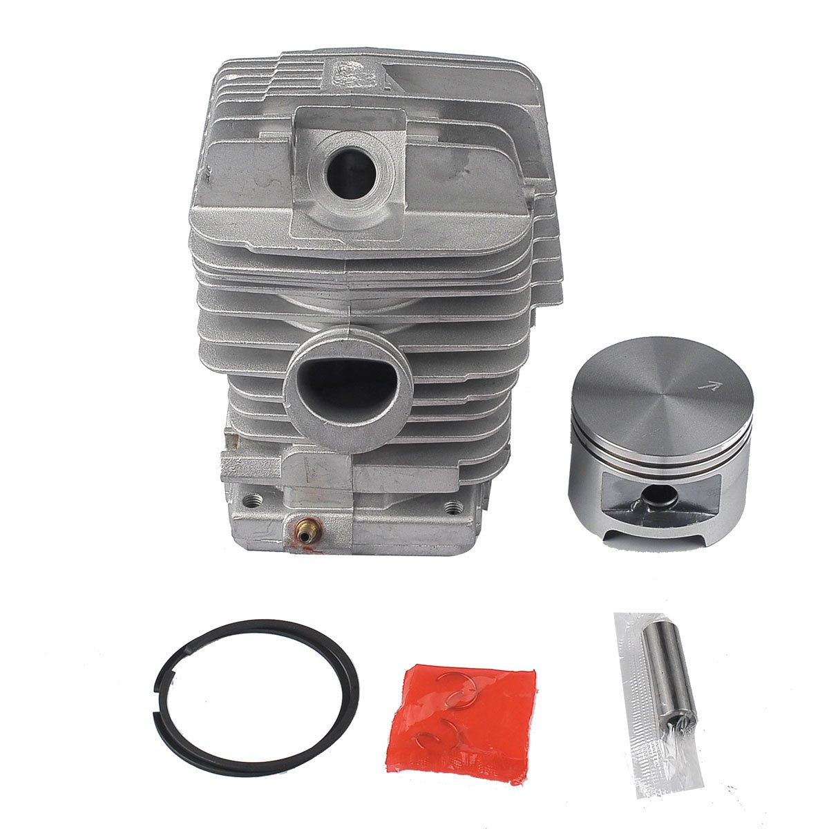 Hipa 49mm Big Bore Cylinder Piston Kits Assy For Stihl 034 Av Chainsaw Parts Diagram On 028 Carb Ms390 Ms290 Ms310 029 039 Pin 10 X 32 Circlip Ring Garden Outdoor