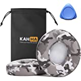 KAHHA Ear Pads,Replacement earpads Compatible with Beats Solo 2&3 Wireless Headphone Cushions with Noise Isolation Memory Foa