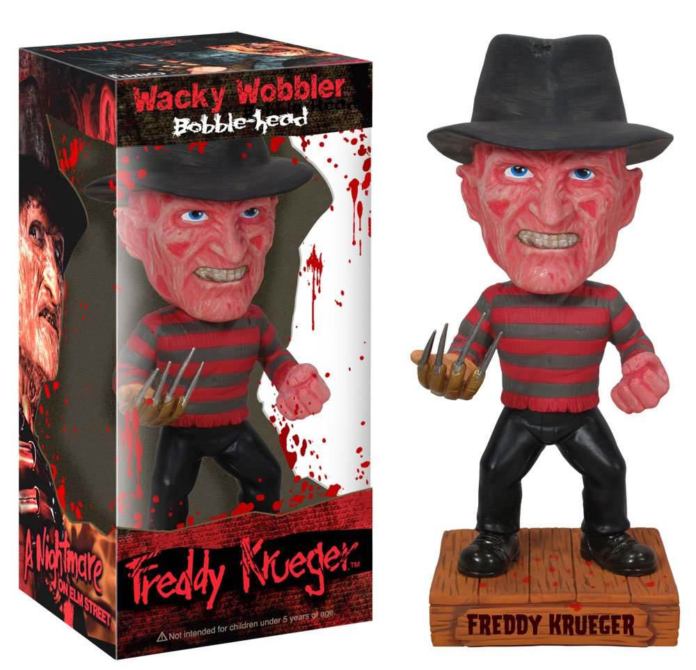 A Nightmare on Elm Street - Freddy Krueger Bobble Head: Funko ...