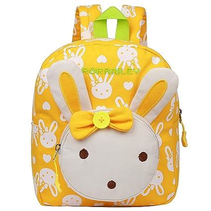 EGOGO Conejo Animales Niños Mochila Kinder mochilas/ Infantil Mochila para Niños Niñas Bebés E525-