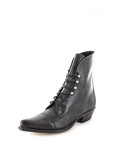 Sendra Boots Stiefel 2699 Grau Damen Westernschnürstiefel PQ4OQu