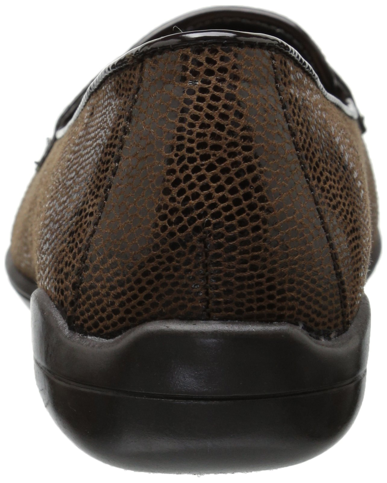 Soft Style by Hush Puppies Women's Daly Penny Loafer, Dark Brown Lizard/Patent, 8.5 W US by Soft Style (Image #2)