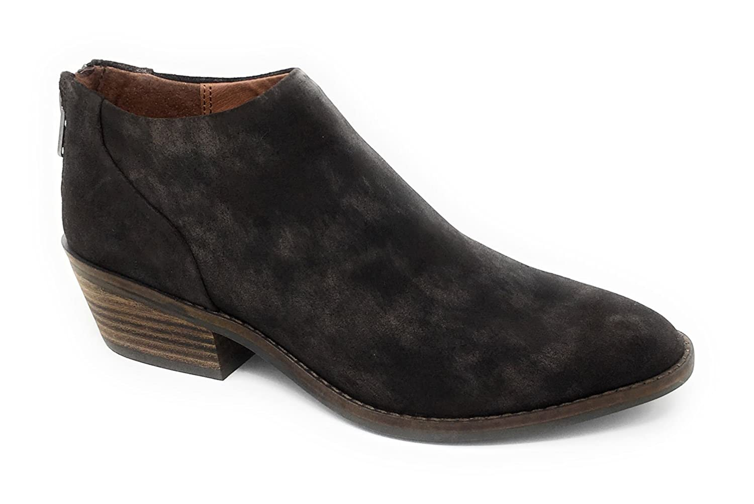 Women's fai Bracken Suede Leather Back Zip Booties