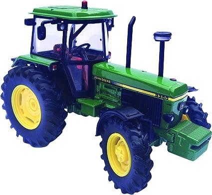 Britains - Tractor John Derre 3350, color verde, amarillo y negro (TOMY 42903