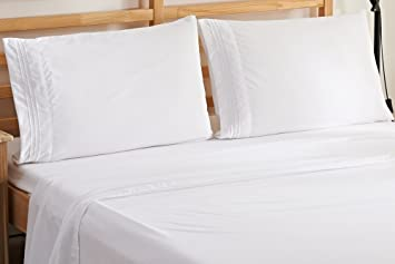 elegant comfort thread count wrinkle u0026 fade resistant egyptian quality ultra soft luxurious 4