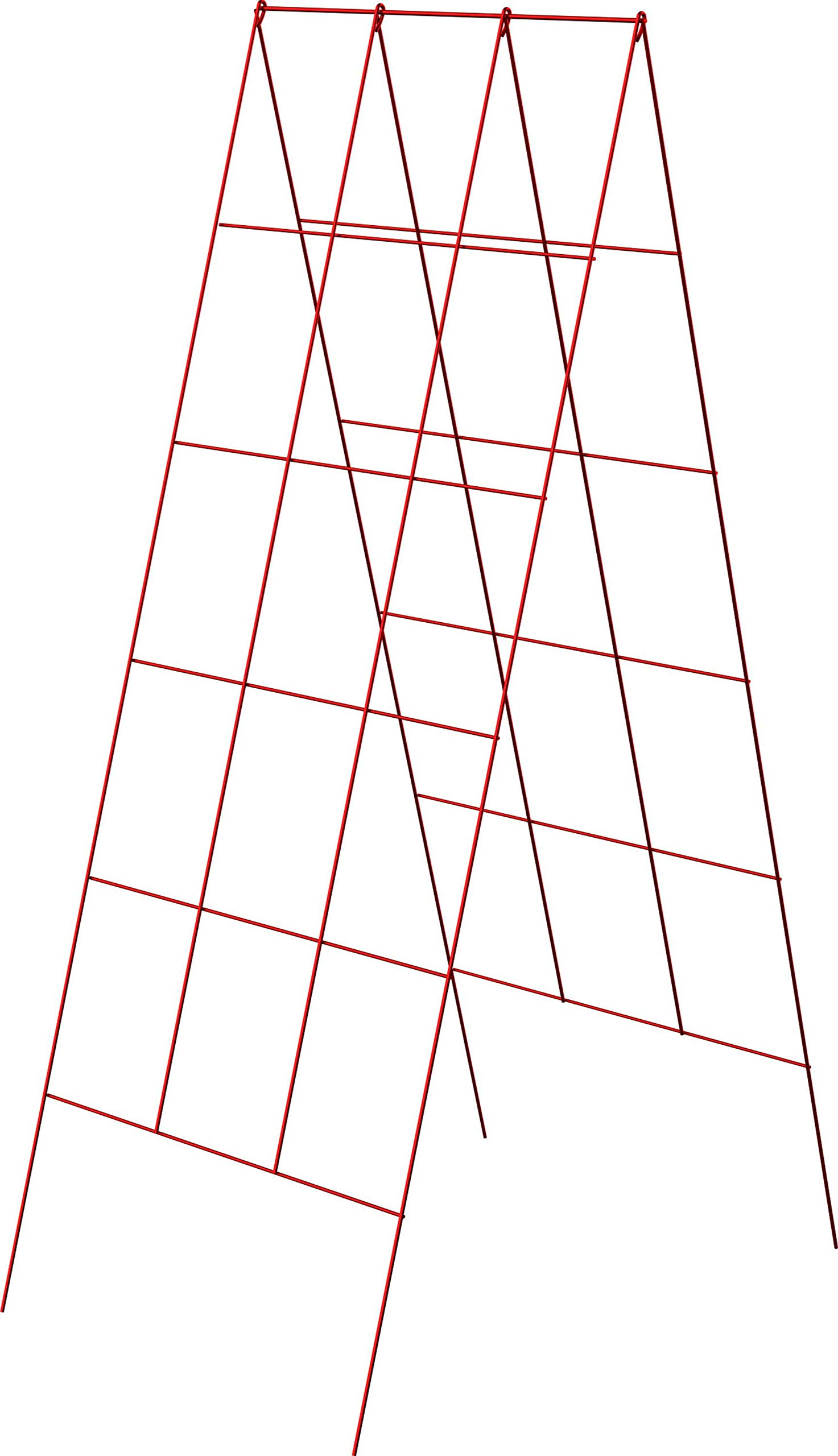 Panacea A-Frame Plant Supports, Red, 48'', Pack of 10