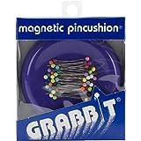 Blue Feather Grabbit Magnetic Pincushion, Purple