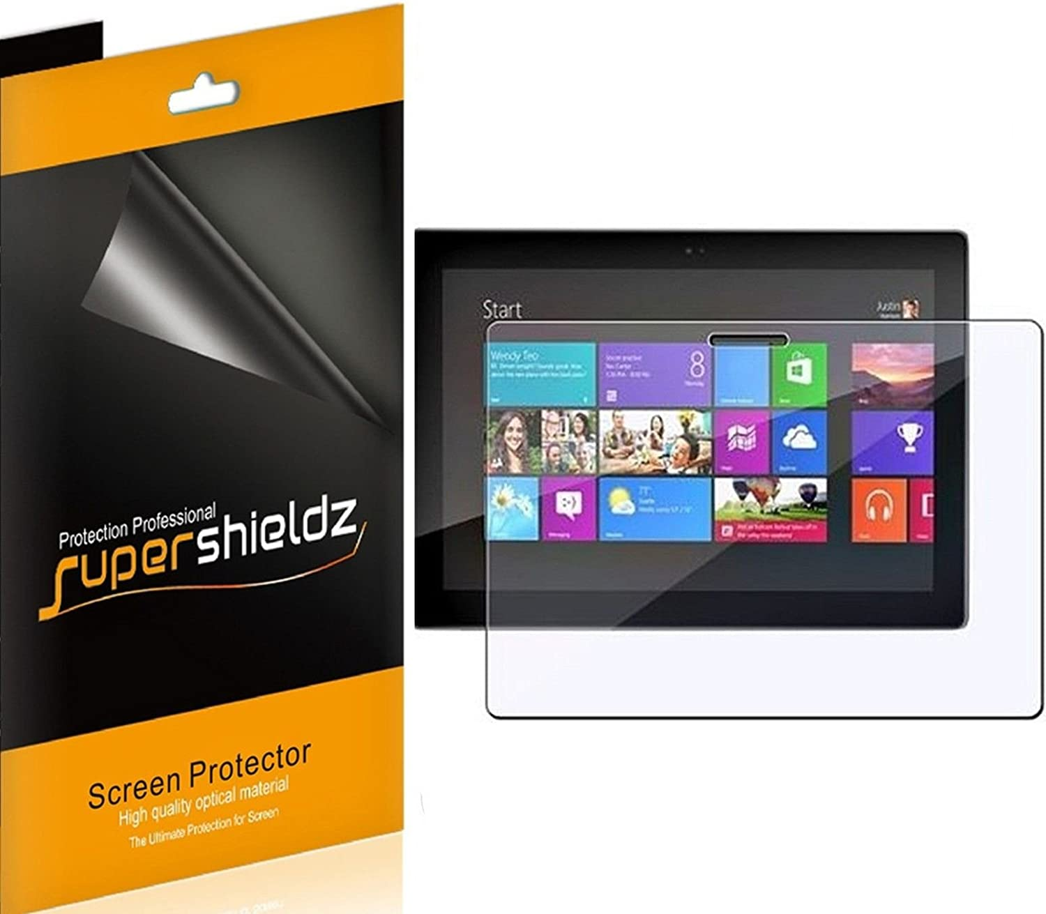 Surface Pro Tablet Clear Screen Protectors 2-Pack 2 x Microsoft Surface RT