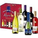 【チリワイン売上No1】アルパカ 6種類 飲み比べBOX 750ml×6本セット [チリ/赤ワイン/辛口/ミディアムボディ/1本]