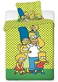 Jerry Fabrics Parure de Lit, Coton, Vert, 200x90x0,5 cm, 1000345134