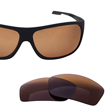 77cbe084a2b LenzFlip Replacement Lenses Compatible with Maui Jim ISLAND TIME-Brown  Polarized
