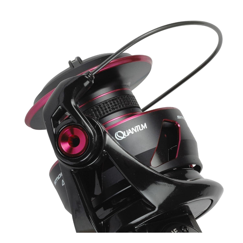 Quantum S3 Smoke SM25XPT Rolle zum Angeln auf Zander /& Forellen Angelrolle zum Spinnangeln Station/ärrolle zum Spinnfischen