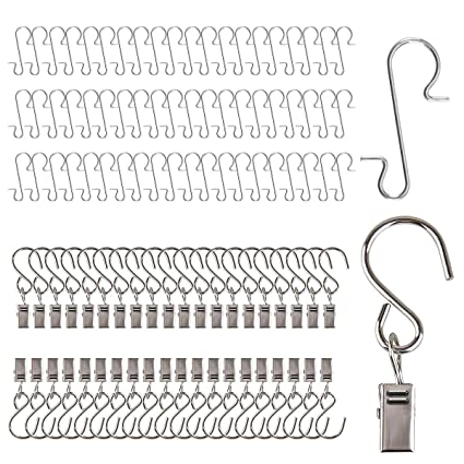 Christmas Light Hooks.Awning Clips Xmas Ornament Hooks 40pcs Outdoor Lights Hangers For Gutter 60pcs Christmas Hooks For Ornaments Siding Clips For Hanging Metal Wire