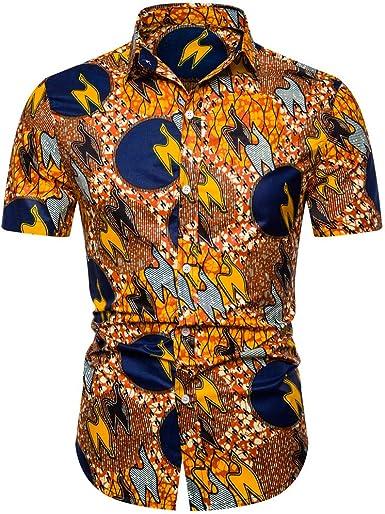 Cocoty-store 2019 Camisa de Playa para Hombre Casual 3D Funky Manga Corta Hawaii Summer Camisetas Tops Blusa M-XXL, S, M, L, XL, 2XL: Amazon.es: Ropa y accesorios