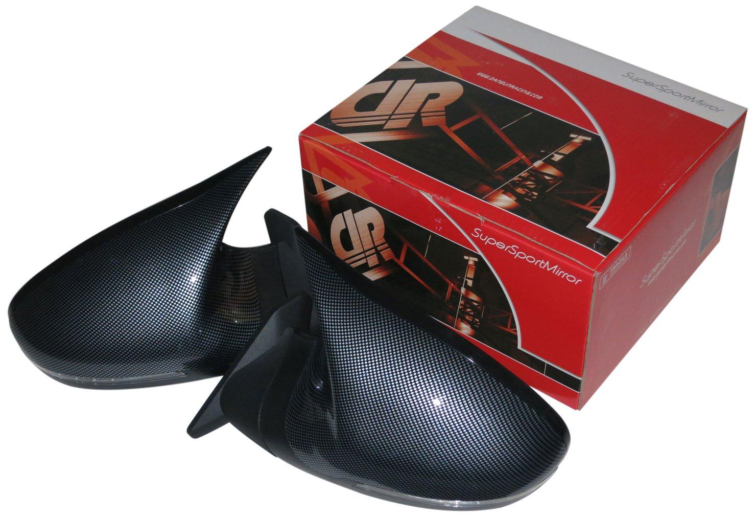 GTSミラー LED カーボンルック ミラー面電動調整 右ハンドル フォルクスワーゲン ルポ 6X系 [2001~2006] SBMGTSCBALHR-0211 B071KF3VVZ フォルクスワーゲン ルポ 6X系 [2001~2006]|カーボンルック カーボンルック フォルクスワーゲン ルポ 6X系 [2001~2006]