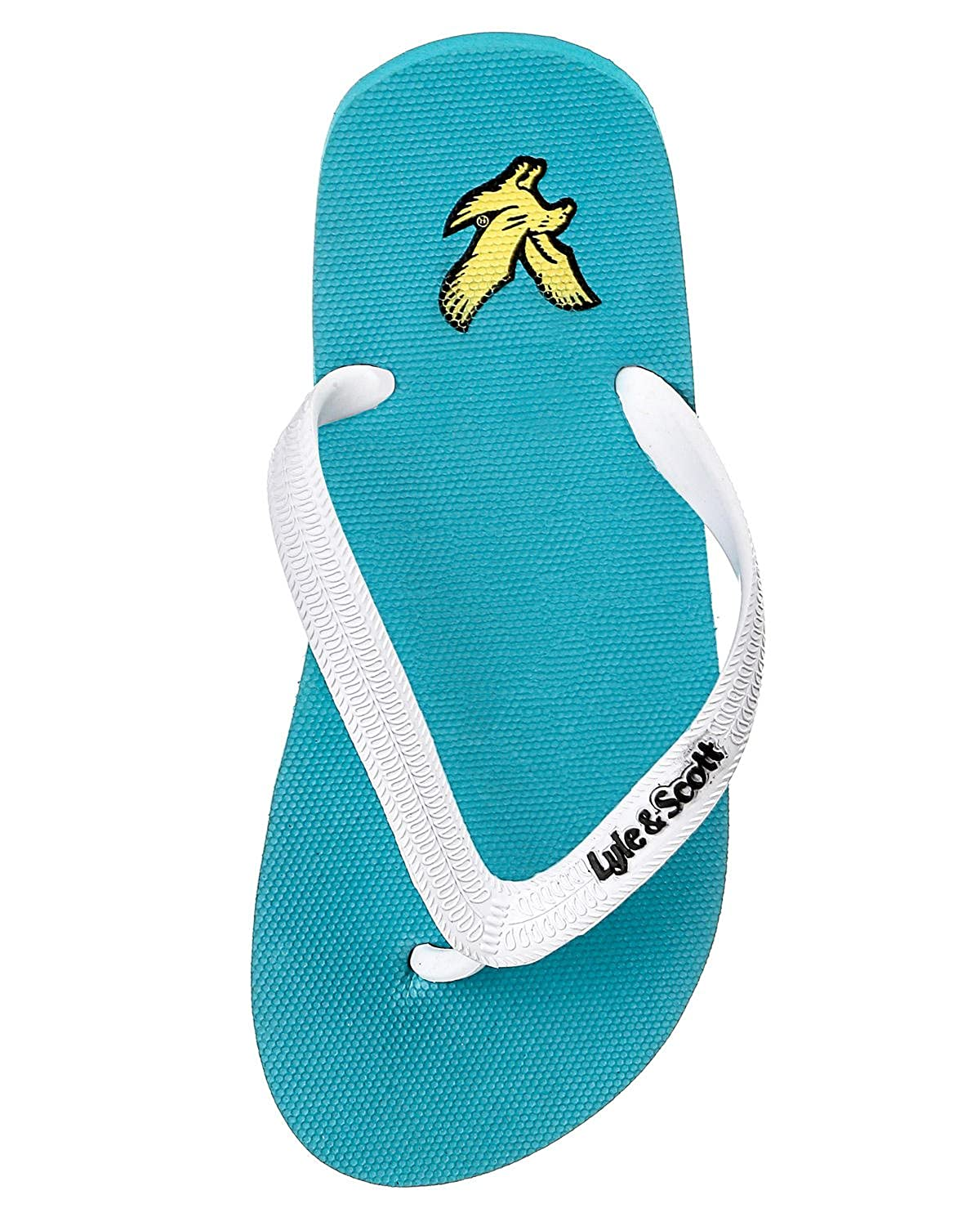 bb6b23545529e3 Mens Lyle and Scott Mens Brora Flip Flops in Turquoise - S  Amazon.co.uk   Shoes   Bags