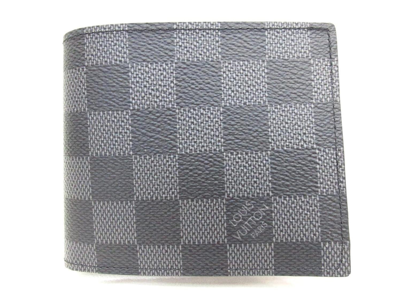 [ルイヴィトン] LOUIS VUITTON ポルトフォイユマルコNM 二つ折財布 財布 ダミエグラフィット ダミエグラフィット N63336 [並行輸入品] B07D9P7TSP