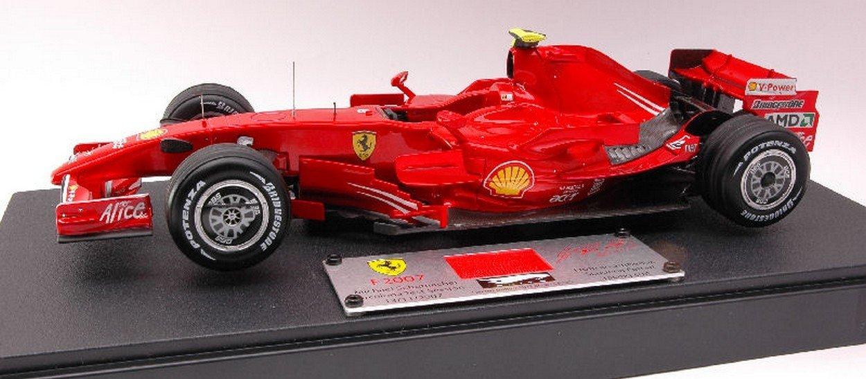 directo de fábrica Hot Wheels HWN5423 Ferrari M.Schumacher 2007 Test Test Test 1 18 MODELLINO Die Cast Model Compatible con  barato en alta calidad