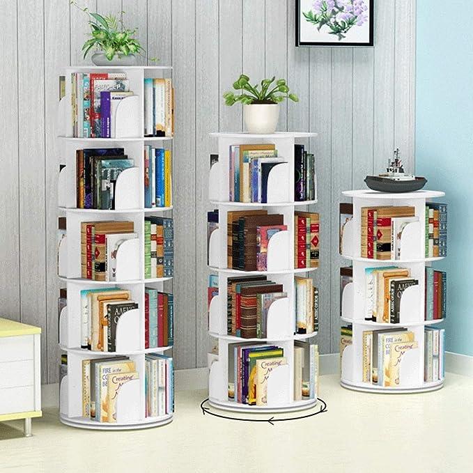 Multi-Función De Biblioteca Moderna Minimalista Circular ...