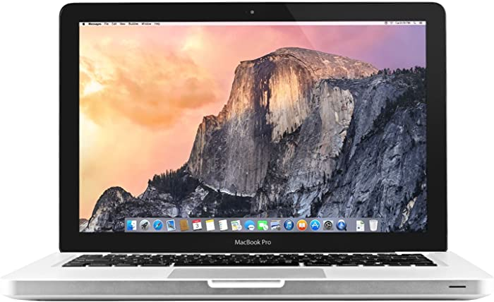 Apple MacBook Pro MD101LL/A 13.3-inch Laptop (2.5Ghz, 8GB RAM, 500GB HD) (Renewed)