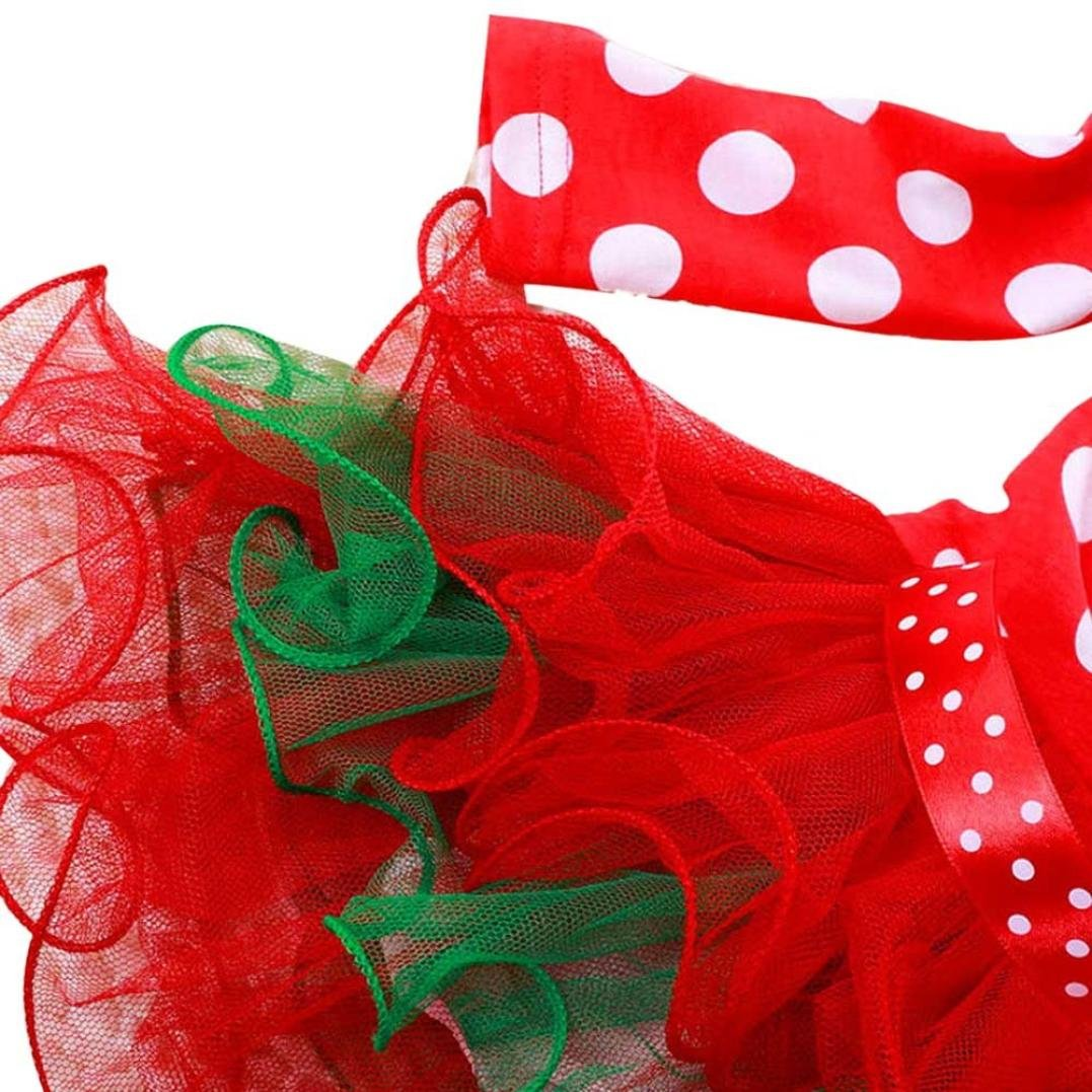 Saingace Saingace 1-6 Jahre altes Mädchen Neujahr Weihnachten Polka ...