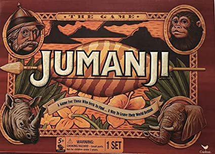 Amazon.com: Cardinal Games Jumanji the Game Play Anywhere Edition ...