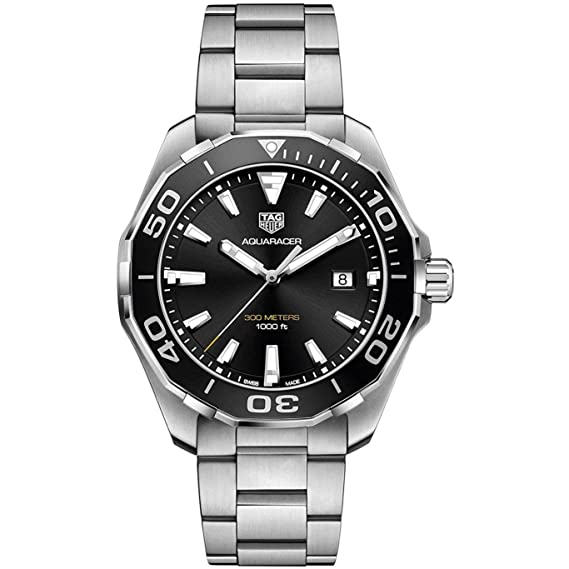 RELOJ TAG HEUER WAY101A.BA0746 AQUARACER 43 MM: Amazon.es: Relojes