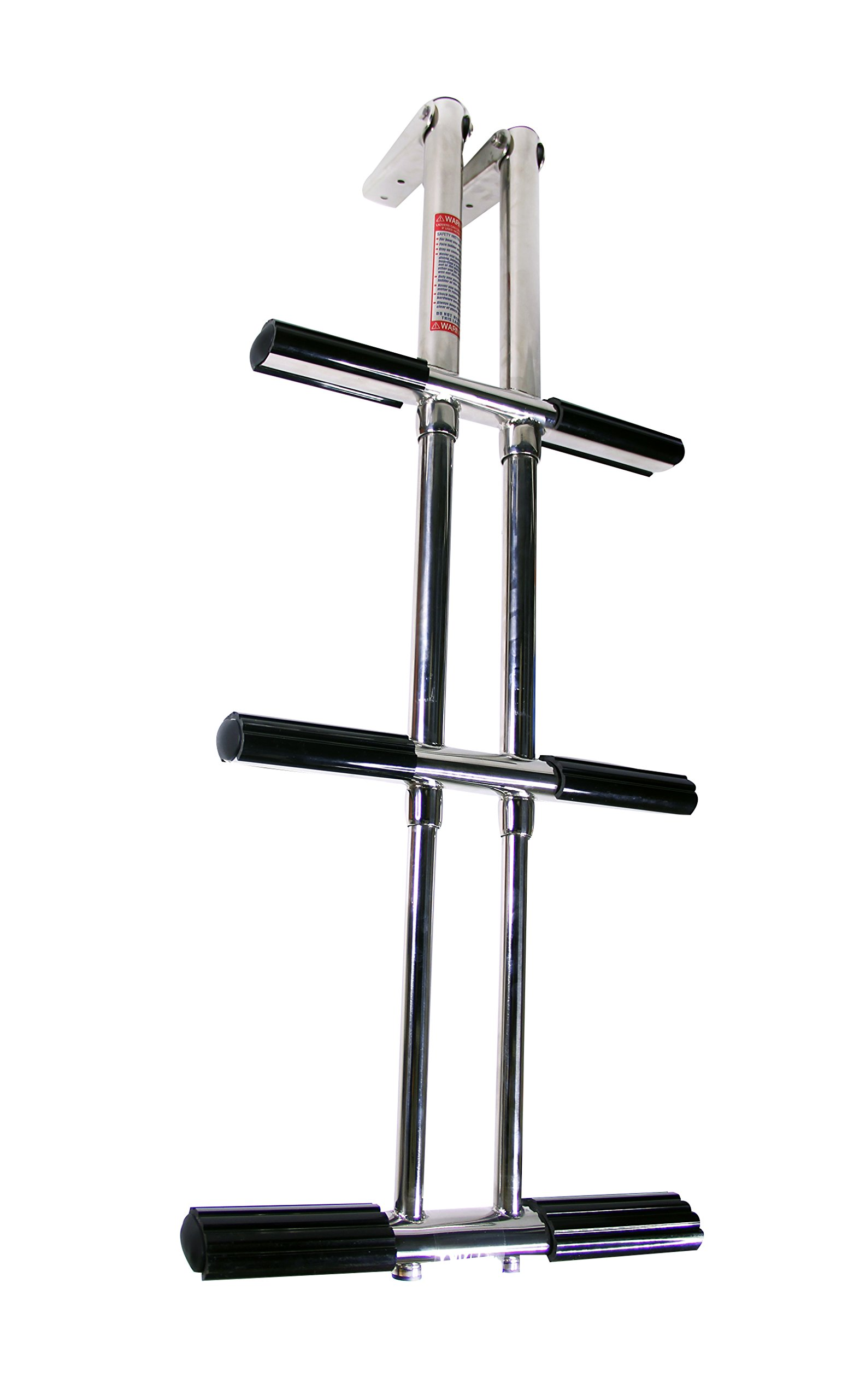 Pactrade Marine Telescopic Boat Dive Ladder, Stainless Steel, 3 Step
