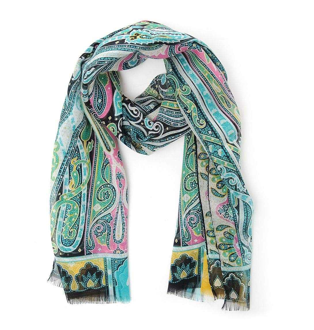 Etro Women's 1000757551 Multicolor Cotton Scarf