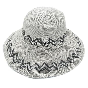 FDYHHRF 2018 Primavera Y Verano Damas Nuevo. Sombrero De Paja Sombrero De  La Playa Sombrero ca31c1a3cdc