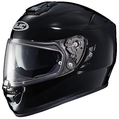 HJC Helmets unisex-adult full-face-helmet-style RPHA-ST Helmet (Black, X-Small), 1 Pack
