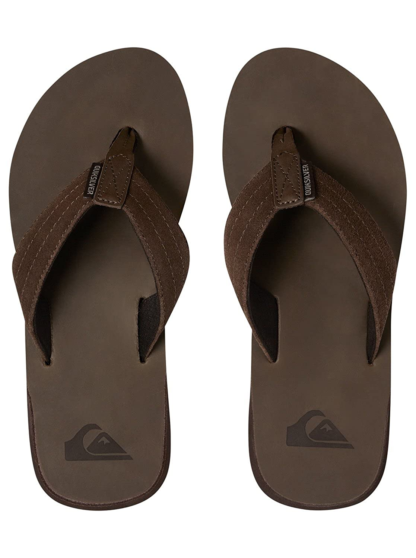 Quiksilver Carver - Tongs en Cuir pour Homme AQYL100544  Quiksilver   Amazon.fr  Chaussures et Sacs fb284e8377e0